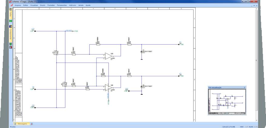 Software_para_Generar_Esquemas_Eléctronicos--E3.logic--tableros_de_circuito