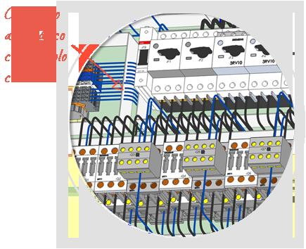 Software de diseño eléctrico de paneles, E3-Panel, Conectar su panel automáticamente