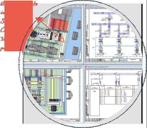 Software de diseño eléctrico de paneles, E3-Panel, integrado con E3.schematics y con E3.cable