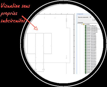 Software para Generar Esquemas Eléctricos, E3-schematic, Predefina sus propios subcircuitos