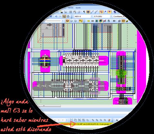 Software de diseño eléctrico de paneles, E3 Panel, Revisión de las reglas de diseño
