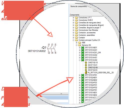 Software para Generar Esquemas Eléctricos, E3-schematic, Diseñe con una extensa librería de componentes prediseñados, preaprobados y probados