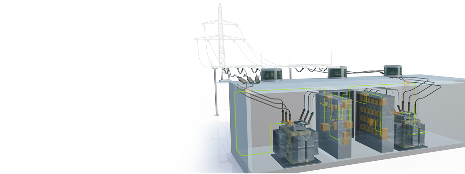 electrical design software, E3 series, power plant
