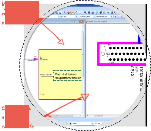Software-para-desenho-de-cabos-e-chicotes-elétricos--E3.Cable--multi-view-functionality